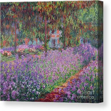 Flower Bed Canvas Prints