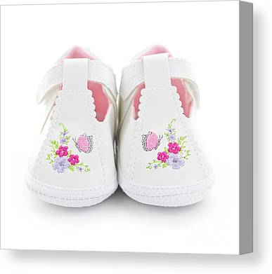 Baby Clothes Canvas Prints