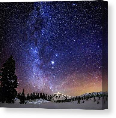 Nightscapes Canvas Prints