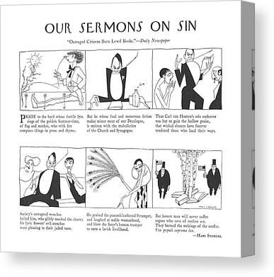 Corrupt Society Canvas Prints