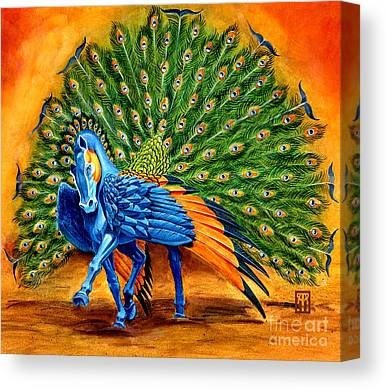Pegasus Canvas Prints