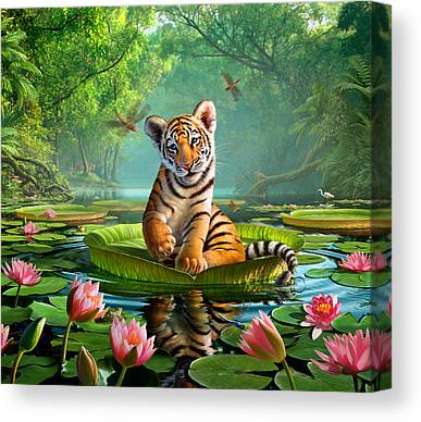 Pond Canvas Prints