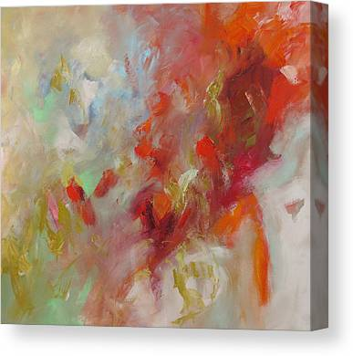 Abstract Expressionist Canvas Prints