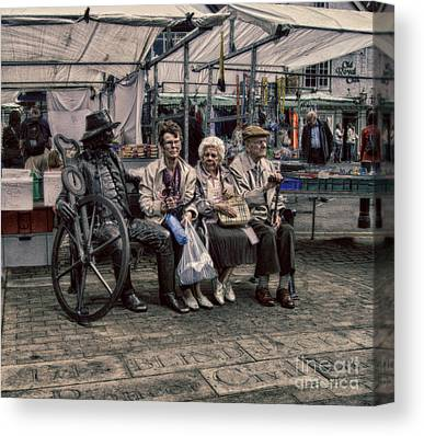 Advice For Older People Canvas Prints