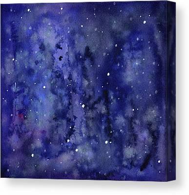 Constellation Mixed Media Canvas Prints