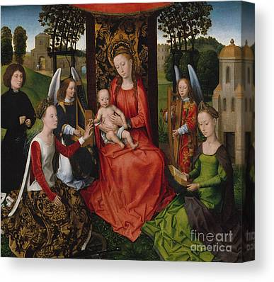 St Barbara Canvas Prints