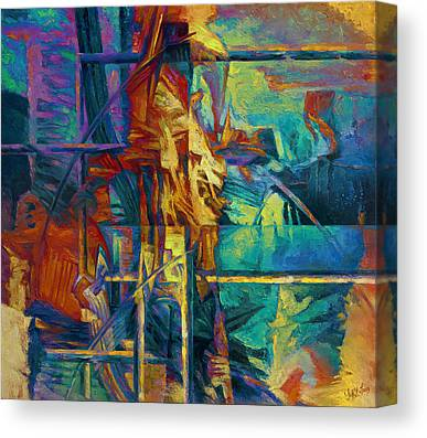 Subsoil Paintings Canvas Prints