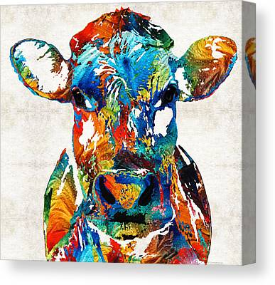 Dairy Canvas Prints