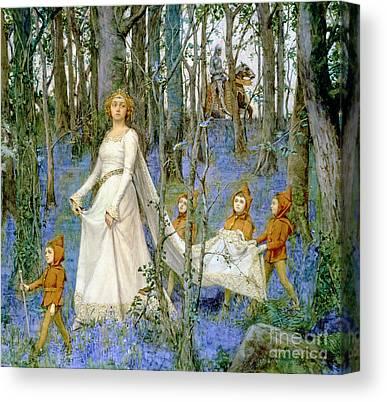 Woodland Scenes Canvas Prints