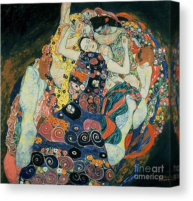 Bed Quilts Canvas Prints