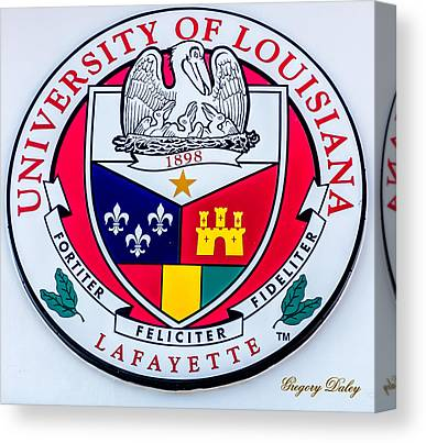 University Of Louisiana At Lafayette Ul Lafayette Canvas Prints