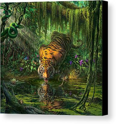 Jungle Canvas Prints