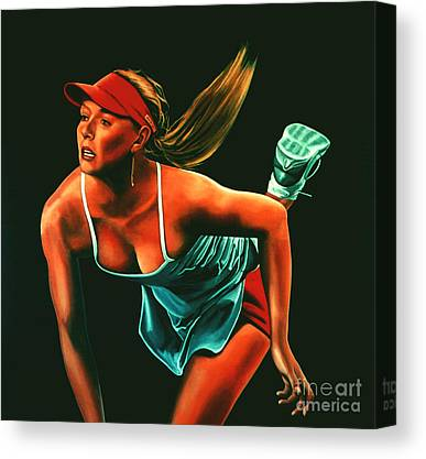 Maria Sharapova Canvas Prints