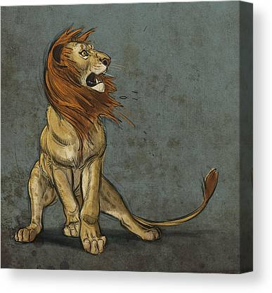 Cat Canvas Prints