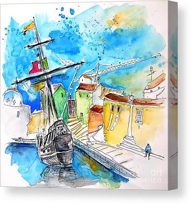 Vila Do Conde Canvas Prints