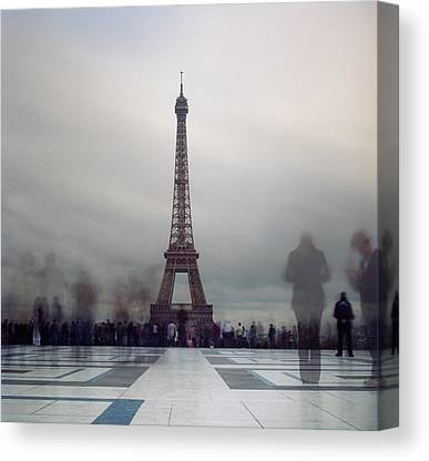 Large Group Of People Canvas Prints