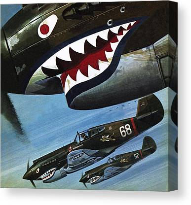 Designs Similar to Flying Tigers Over Asia