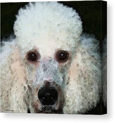 Buy Dog Art Digital Art Canvas Prints