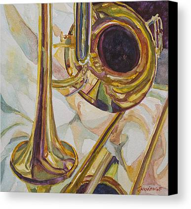 Trombone Canvas Prints