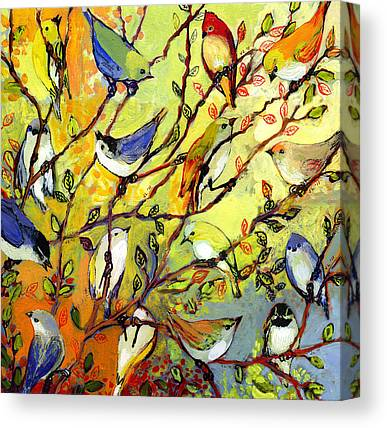 Finch Canvas Prints