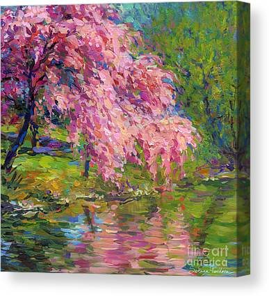 Scenic Drawings Canvas Prints