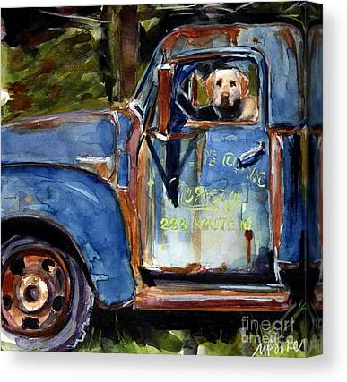 Old Trucks Canvas Prints