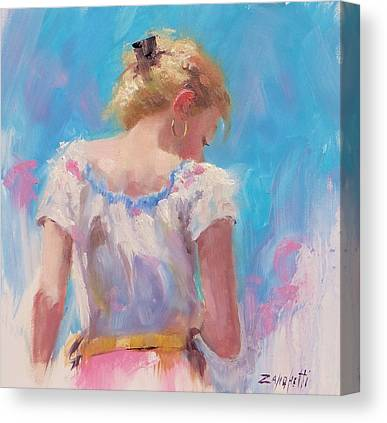 Updo Paintings Canvas Prints