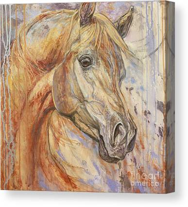 Brown Horse Canvas Prints