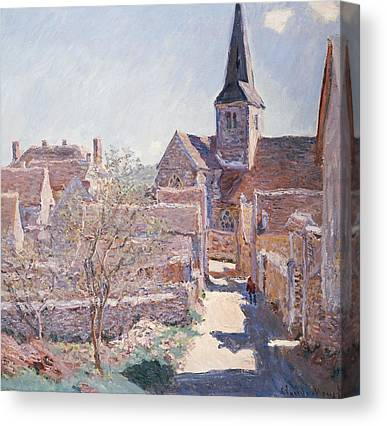 French Village Canvas Prints