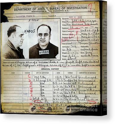 Al Capone Mugshot Art | Fine Art America