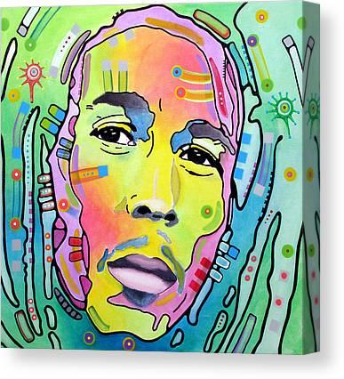 Bob Marley Canvas Prints
