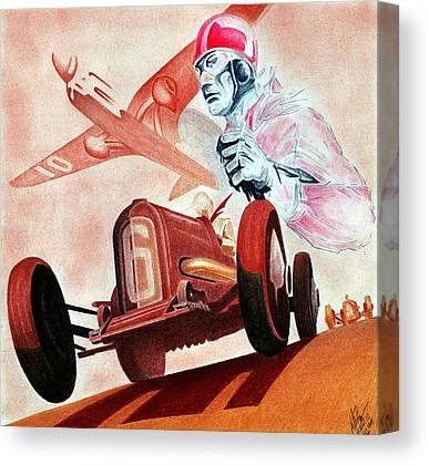 Geo Ham Canvas Prints