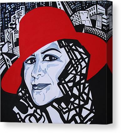 Glafira Rosales Canvas Prints