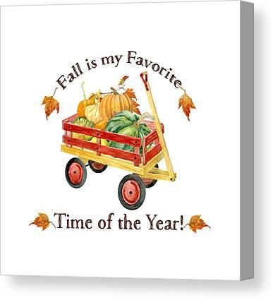 Thanksgiving Canvas Prints