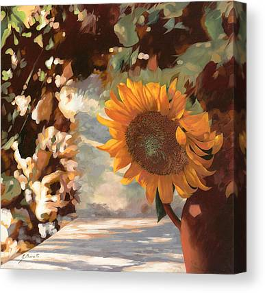 Summer Light Canvas Prints