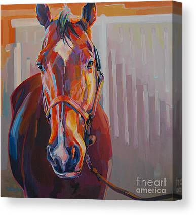 Chestnut Horse Canvas Prints
