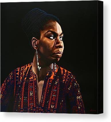 Kathleen Paintings Canvas Prints