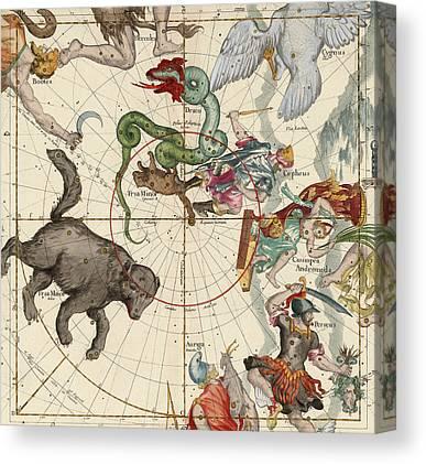 Andromeda Drawings Canvas Prints