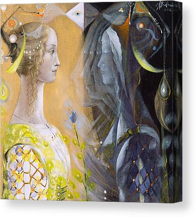 Astrology Paintings Canvas Prints