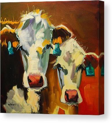 Cows Canvas Prints