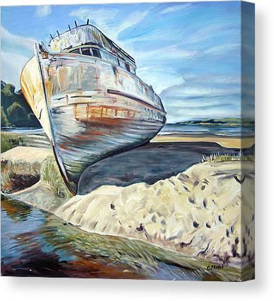 Marin County Canvas Prints