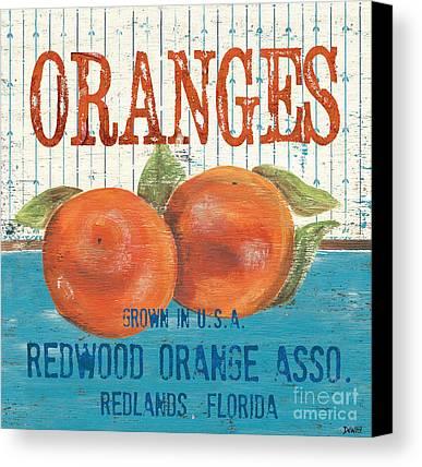 Orange Canvas Prints