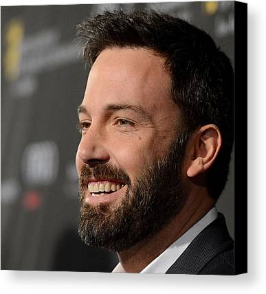 Ben Affleck Canvas Prints