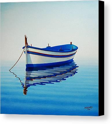 Boat Canvas Prints
