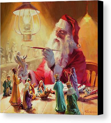 Santa Claus Paintings Limited Time Promotions