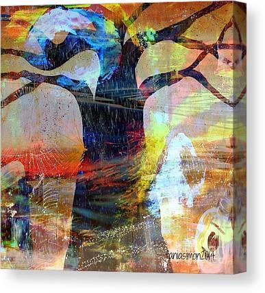 Goree Mixed Media Canvas Prints