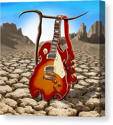 Music Inspired Photographs Canvas Prints