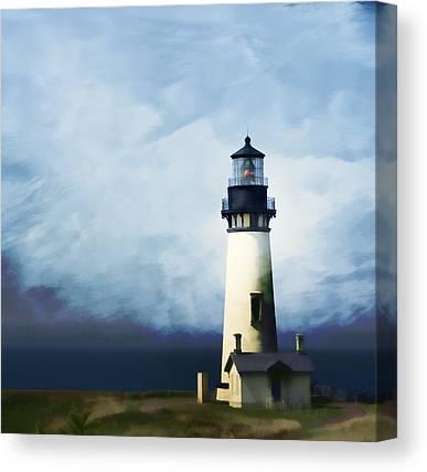 Seascape. Headland Canvas Prints