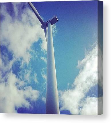 Wind Farms Canvas Prints