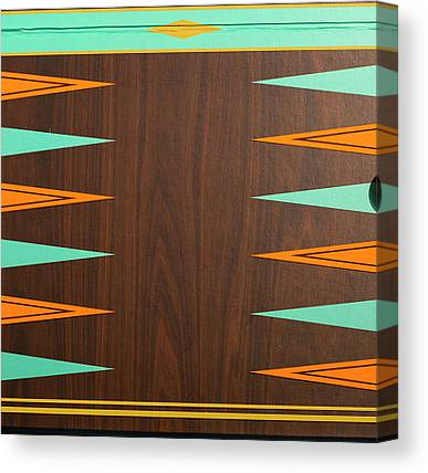 Backgammon Canvas Prints